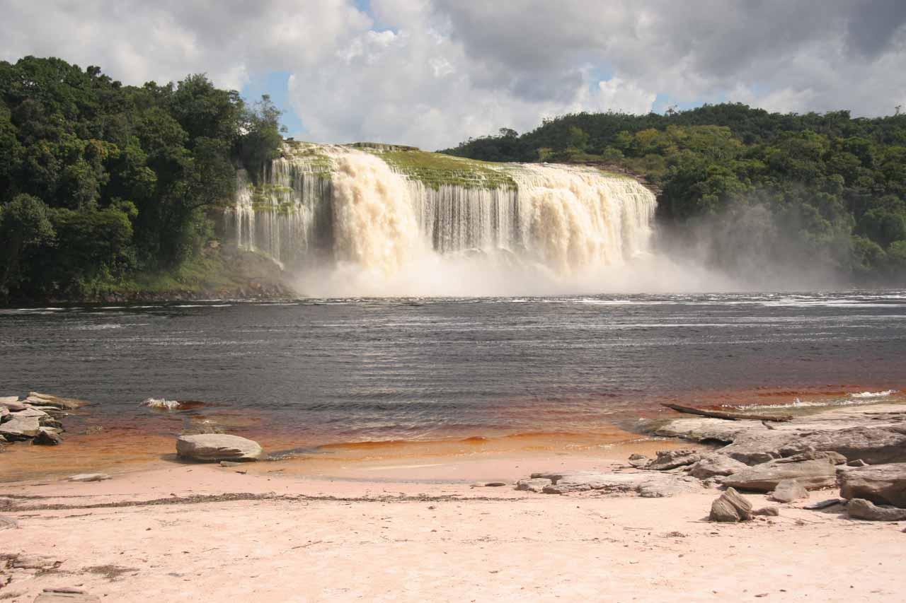 Back at Hacha Falls