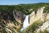 Canyon_260_08022020 - This was the familiar view of the Lower Falls of the Yellowstone River from Lookout Point during the late morning of our August 2020 visit