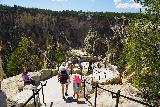 Canyon_278_08022020 - Julie and Tahia descending towards one of the lower lookouts at Inspiration Point during our August 2020 visit