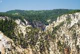 Canyon_283_08022020 - This was about as much of the Lower Falls as we were able to see from one of the furthest lookouts at Inspiration Point during our August 2020 visit