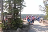 Canyon_North_Rim_063_08102017 - Approaching the crowded Lookout Point