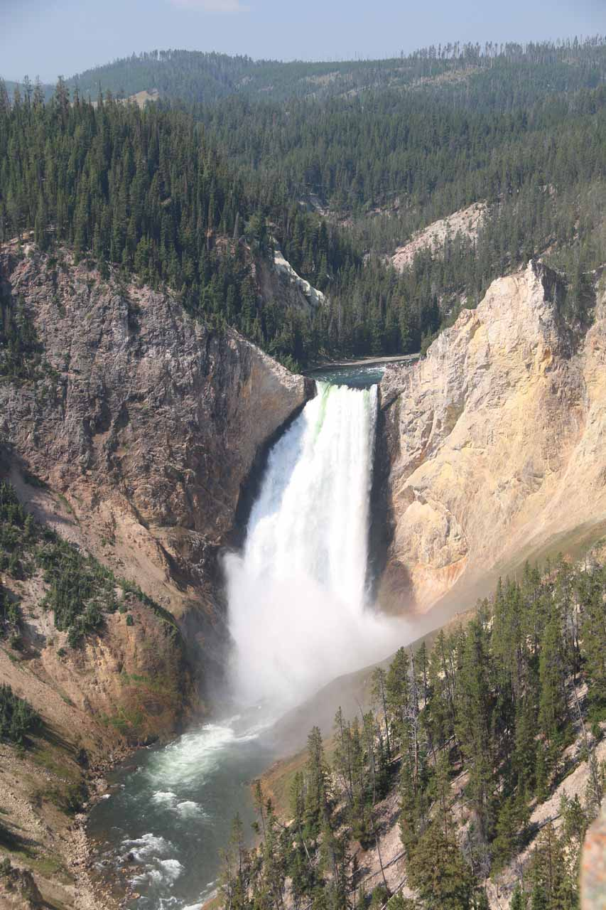 View of Lower Falls from Lookout Point