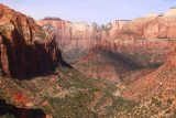 Canyon_Overlook_Trail_079_04042018 - Another look at the majestic view from the Canyon Overlook towards the switchbacks between Zion Canyon and the Mt Carmel Tunnel