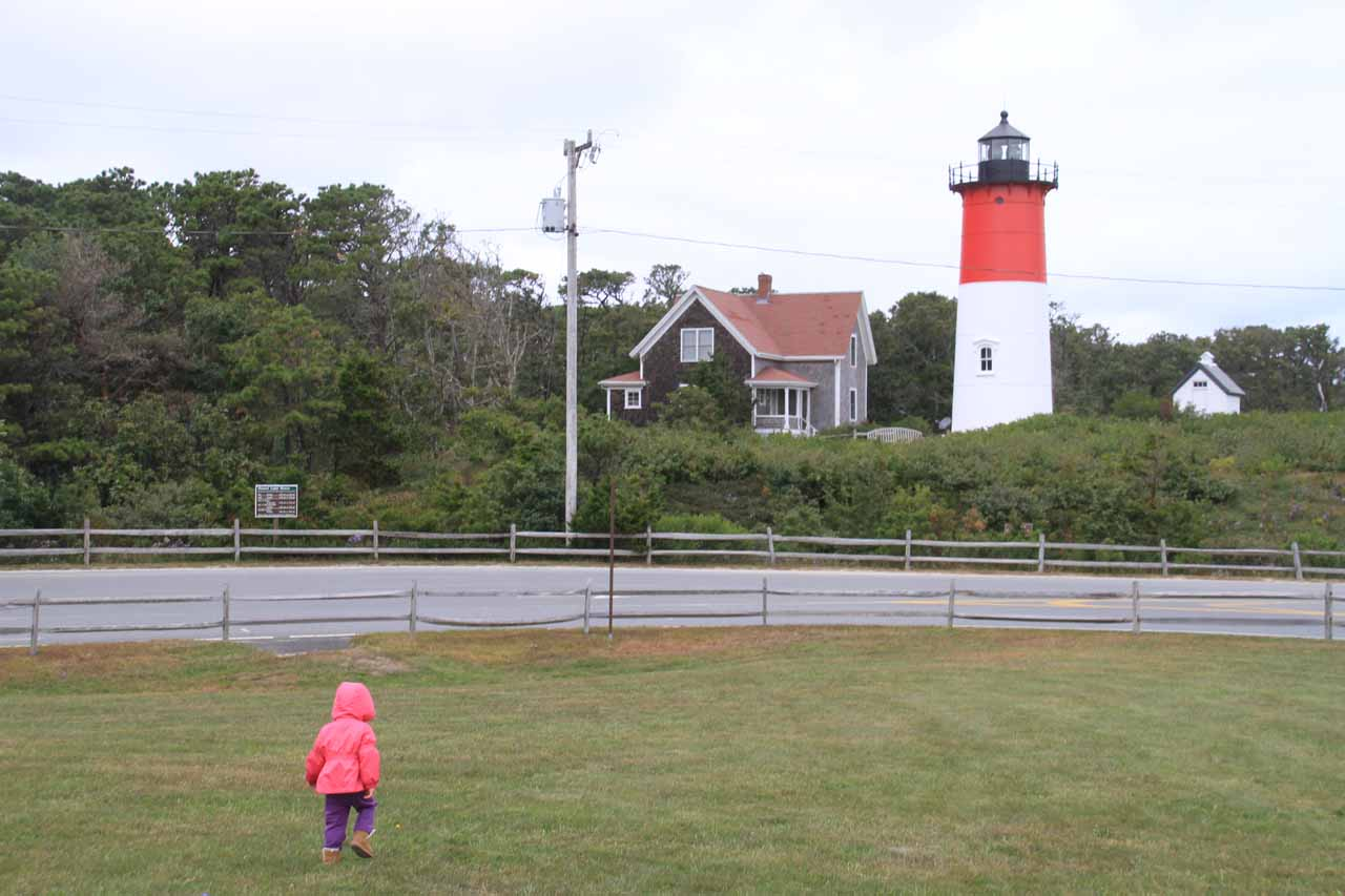 Tahia before Nauset Light