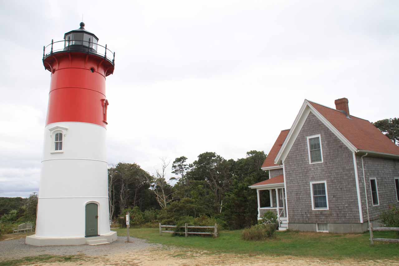 Right at Nauset Light