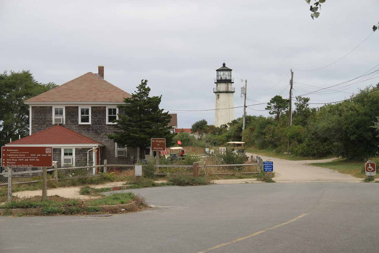 Approaching Highland Light