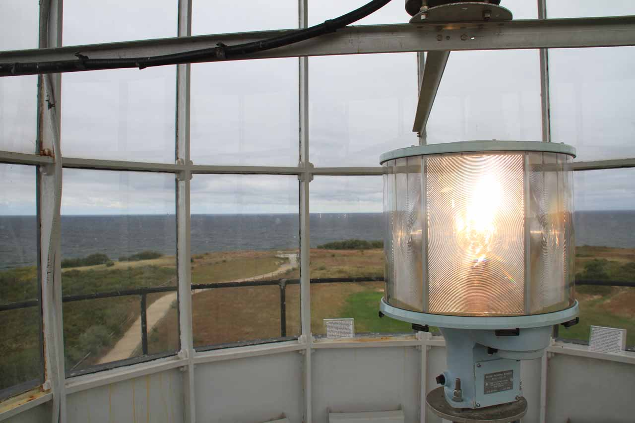 The light room in Highland Light