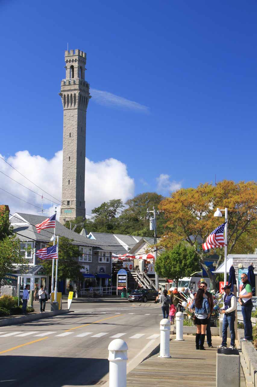 The charming Provincetown on the northern end of the Cape Cod Peninsula is roughly a 2-3 hour drive from Boston, and is definitely worth checking out