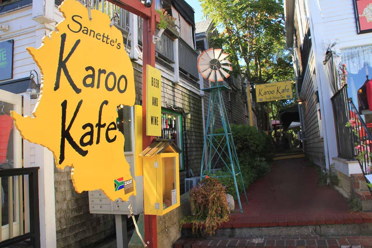 The Karoo Kafe