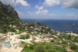 Capri_005_20130520 - View of the north shore of Capri as we left the funicular