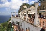 Capri_006_20130520 - The busy terrace atop the funicular end