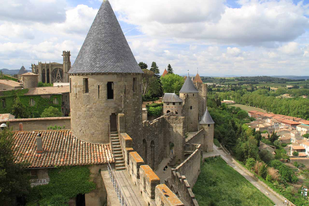 Carcassonne was a charming medieval town that felt like a Southern France Mont-St-Michel-like experience with its nearly timeless feel