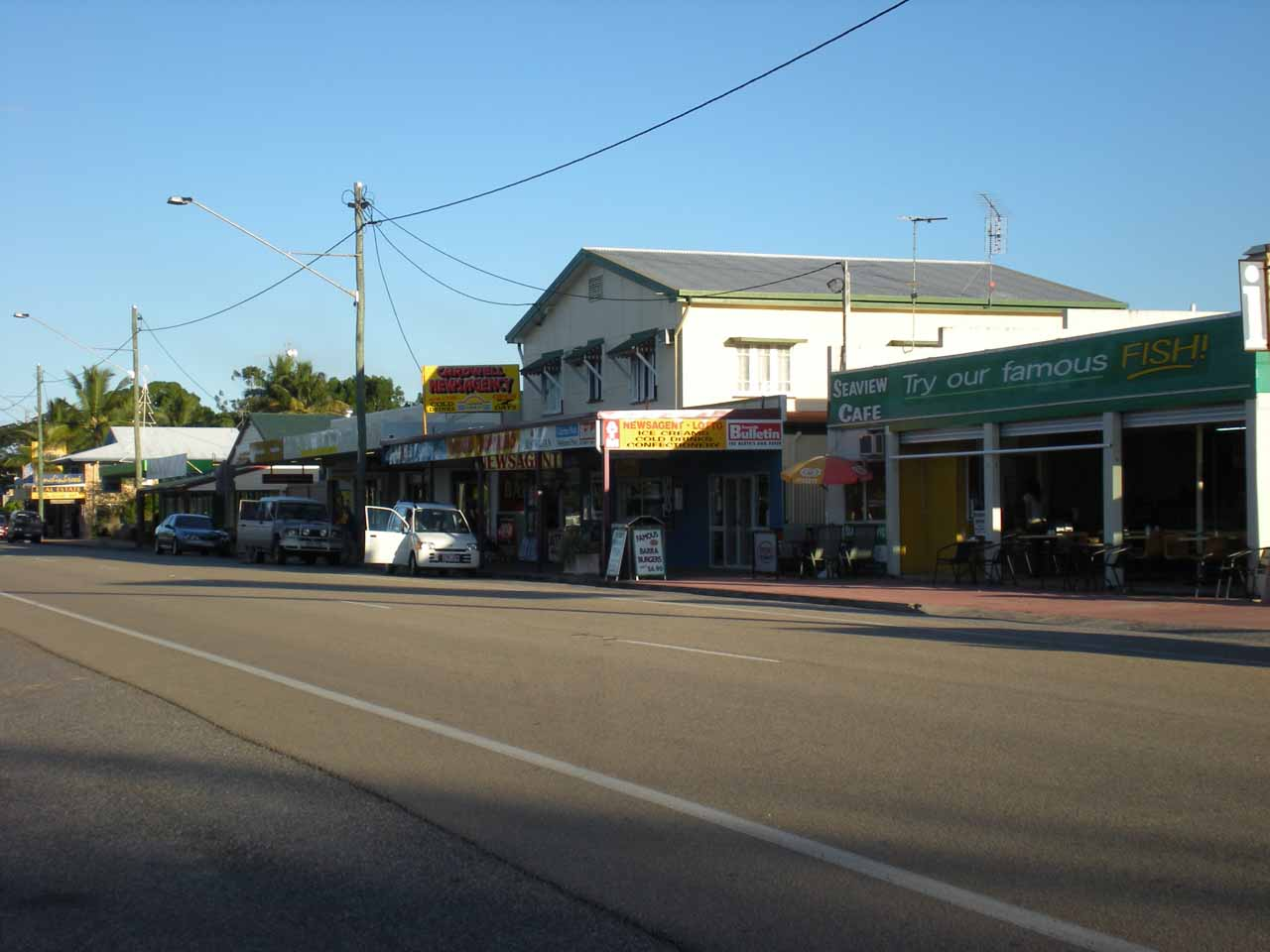 The town of Cardwell