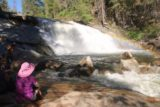 Carlon_Falls_17_087_06172017 - Mom dipping her feet in the cold water while looking at Carlon Falls