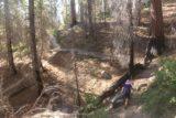 Carlon_Falls_17_099_06172017 - Mom ascending towards the eroded apex of the Carlon Falls Trail
