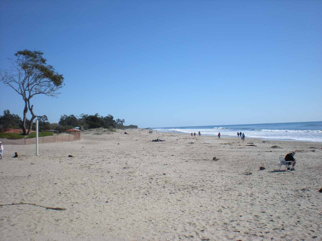 And just about 10 miles further south of Santa Barbara was the town of Carpinteria, which featured a pleasant stretch of beach