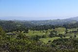 Carson_Falls_015_04212019 - Looking over a country club towards the North San Francisco Bay while ascending on the Pine Mountain Road en route to Carson Falls in April 2019