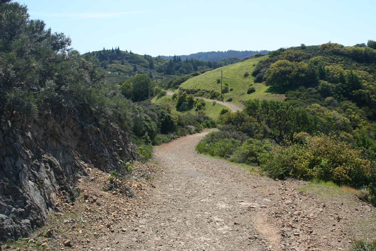 Descending Oat Hill Road
