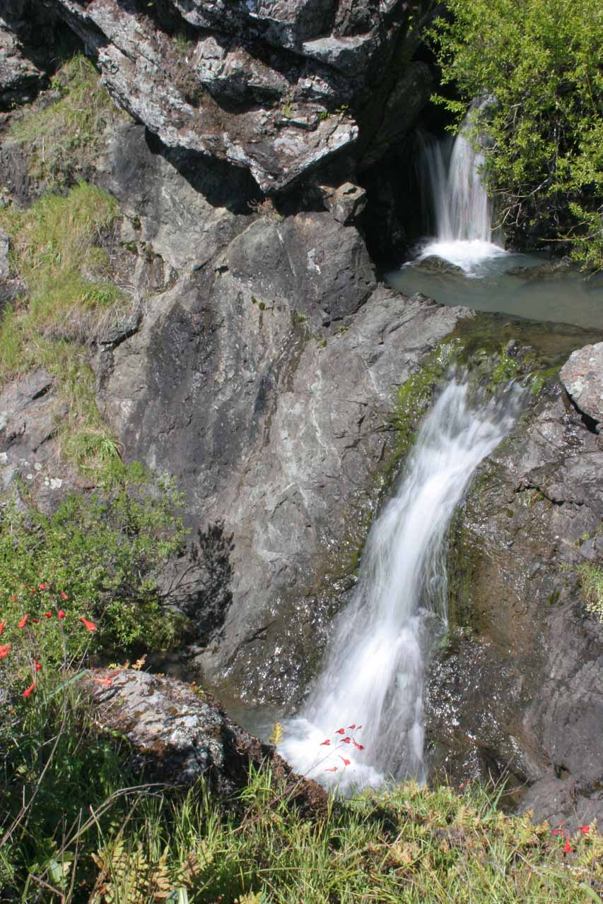 The uppermost of the Carson Falls