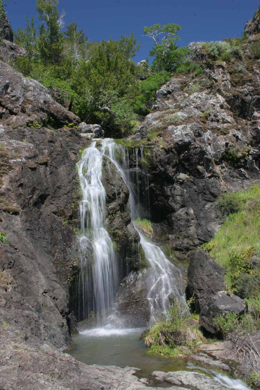 Another look at the attractive middle tiers of Carson Falls