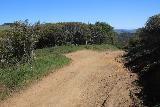 Carson_Falls_041_04212019 - Looking back at the trail junction between the summit of Pine Mountain Road and Oat Hill Road as I pursued the Carson Falls in April 2019