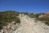 Carson_Falls_137_04212019 - Looking back up at the struggling mountain bikers making their slow ascent up the Pine Mountain Road as I was descending on my Carson Falls hike in April 2019