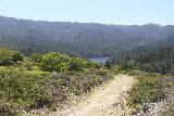Carson_Falls_151_04212019 - Another contextual look at the Pine Mountain Road and the Alpine Lake towards the end of my Carson Falls hike in April 2019