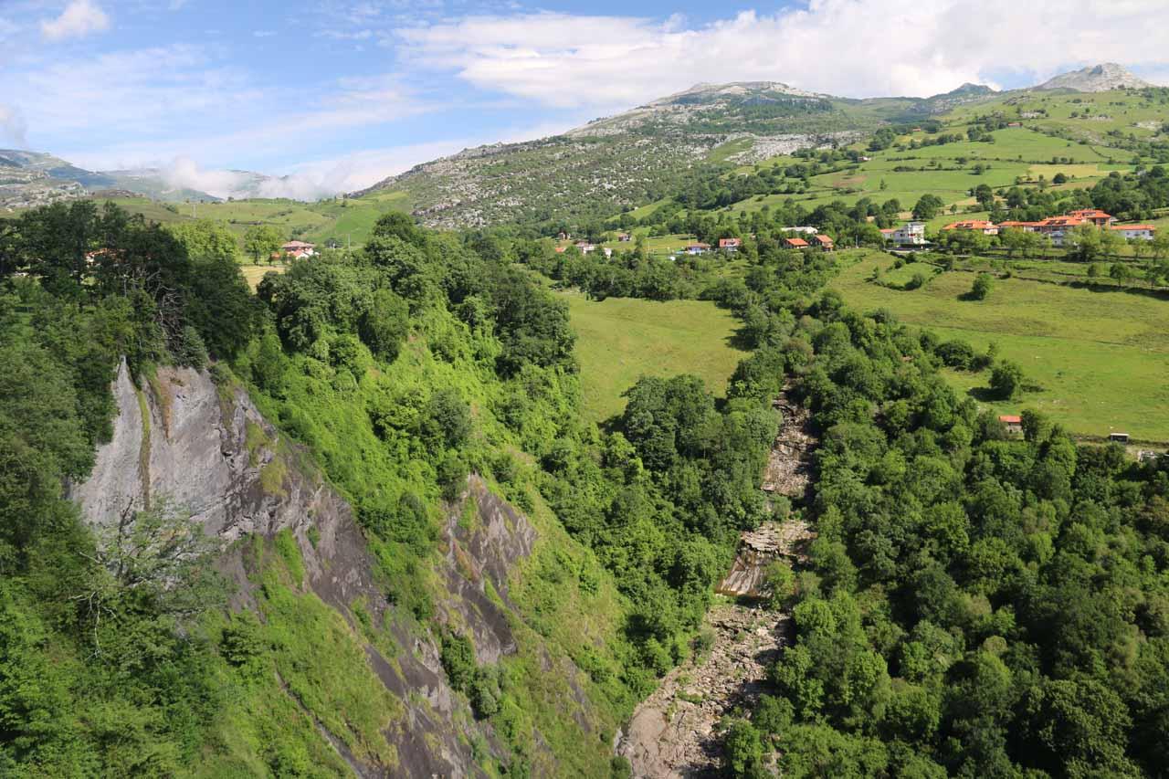 Cascadas del Río Gándara