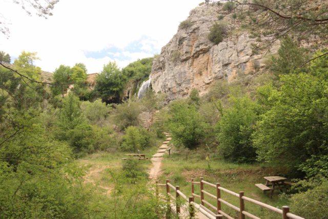 Cascada_del_Molino_038_06042015 - The final approach to the Cascada del Molino de la Chorrera