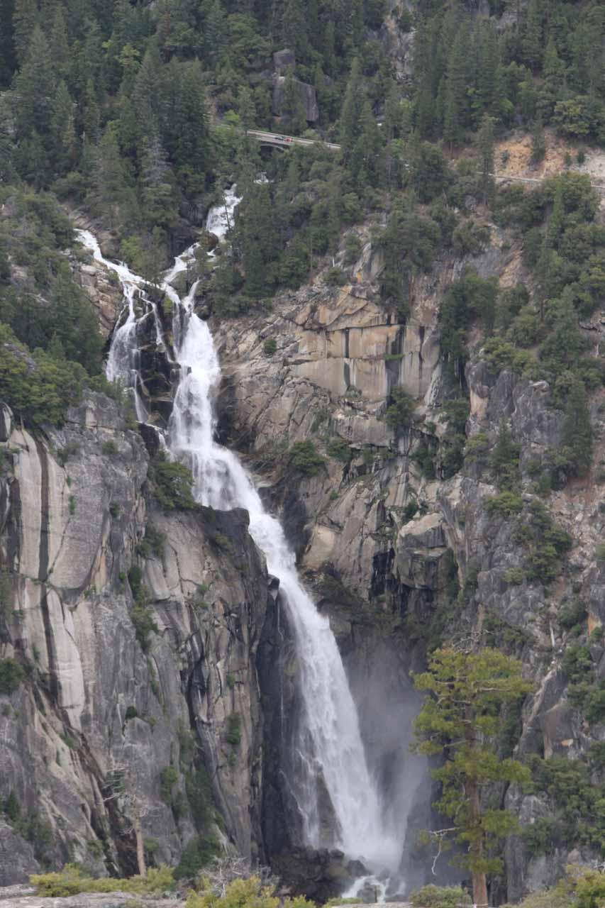 More recent look at Cascade Falls in June 2011