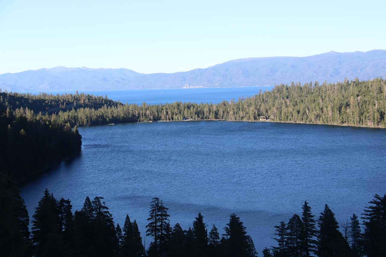 Throughout the Cascade Falls Trail, we were able to look towards Cascade Lake and the greater Lake Tahoe. These views alone compelled many folks to claim this as Tahoe's best day hike