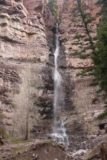 Cascade_Falls_Ouray_019_04172017 - More zoomed in look at the Lower Cascade Falls from the sheltered lookout