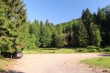 Cascade_de_Tendon_002_06192018 - The empty car park at the Grande Cascade de Tendon