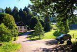 Cascade_de_Tendon_012_06192018 - Looking back towards some kind of auberge at the Grande Cascade de Tendon