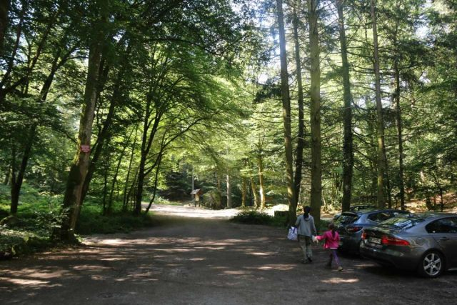 Cascade_de_Tendon_070_06202018 - The car park for the Petite Cascade de Tendon