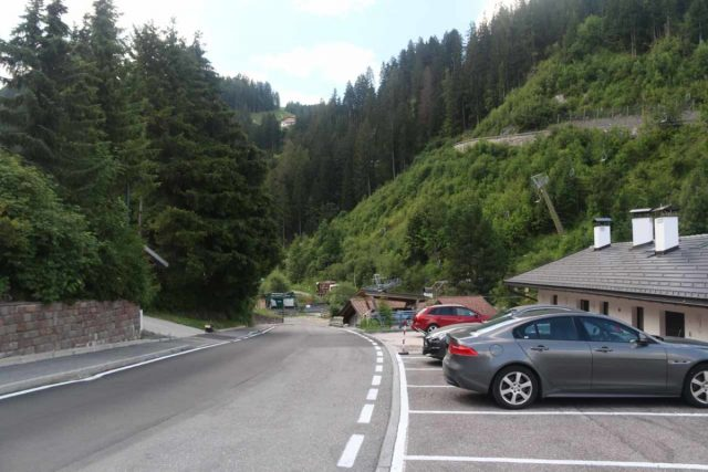 Cascata_di_Tervela_003_07162018 - This was the street (Strada Pana) where I managed to find parking near the Monte Pana Cable Car Station