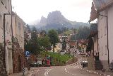 Cascata_di_Tervela_119_07162018 - Looking along the main drag through the town of Santa Cristina di Val Gardena as I walked back towards the roundabout and then to my parked car on Strada Pana