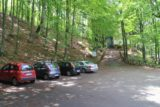 Cascate_del_Dardagna_007_20130526 - The car park at the trailhead for the Dardagna Waterfalls