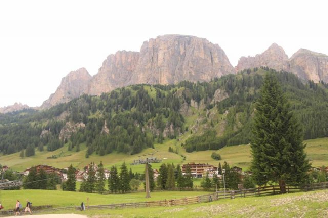 Cascate_di_Pisciadu_043_07162018 - Looking across the valley at some of the Italian Dolomites from around the Colfosco Adventure Park as I was making my way to the hike to the Cascate del Pisciadù