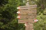 Cascate_di_Pisciadu_063_07162018 - Signage letting me know what I was in for as I sought to hike towards the Cascate del Pisciadu