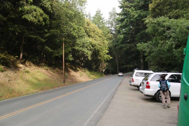 Castle_Rock_132_05192016 - If the gates of Castle Rock State Park are closed, we noticed that there was additional parking just outside the gates along Skyline Blvd