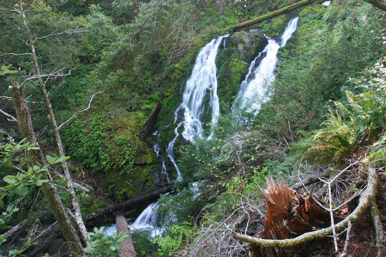Another one of Cataract Falls' cascades