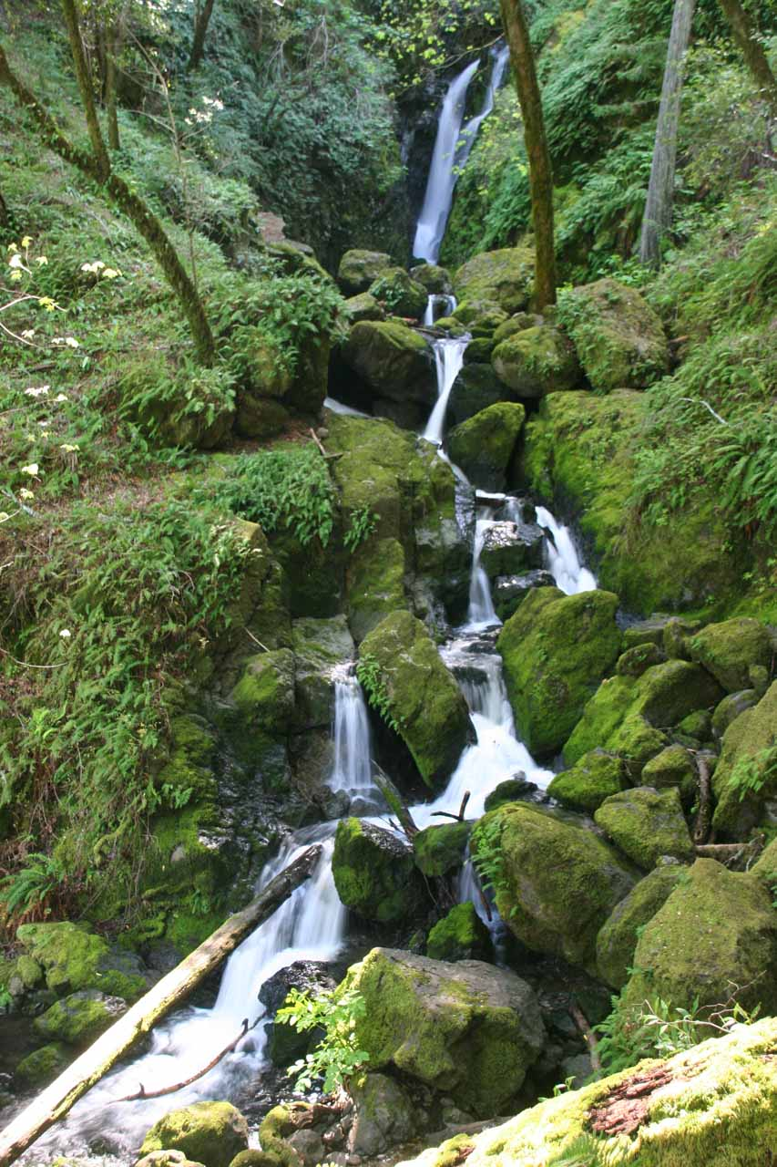 This was one of the prettier cascades we saw as part of the Cataract Falls ensemble