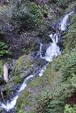 Cataract_Falls_047_04212019 - Looking down across the bottom of the first of the significant Cataract Falls during my climb higher on the Cataract Creek Trail in April 2019
