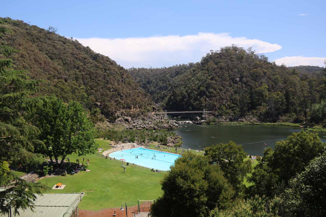 The Cataract Gorge was Launceston's top attraction as it featured swimming areas to cool off, a scenic walk, chair lifts for a more elevated view, and BBQ shelters as well as eateries