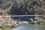 Cataract_Gorge_17_011_11232017 - Zoomed in look at the Alexandra Suspension Bridge in the Cataract Gorge