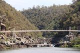 Cataract_Gorge_17_105_11232017 - Looking directly back towards the mouth of the river beneath the Alexandra Suspension Bridge