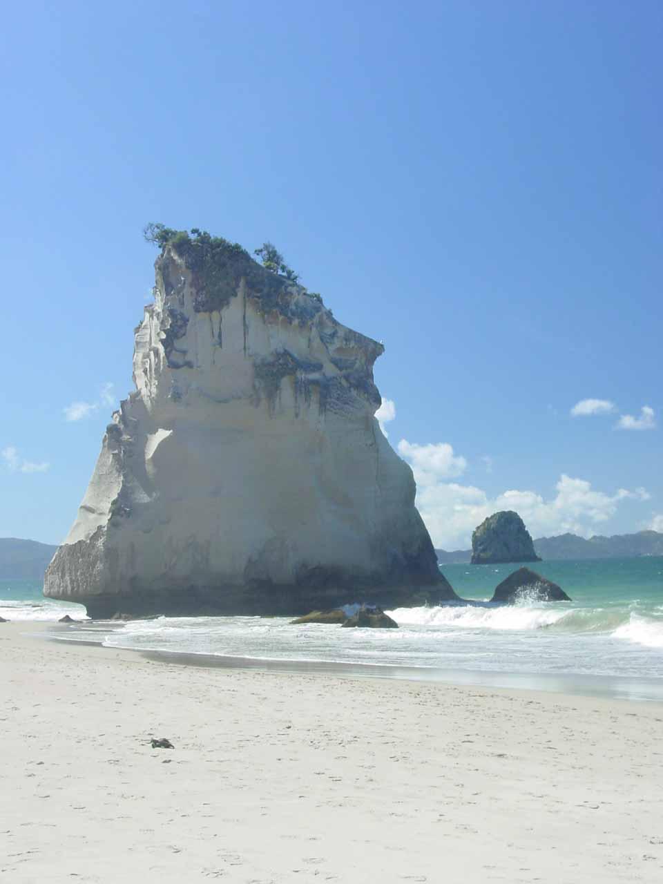 Closer look at the impressive Hoho Rock