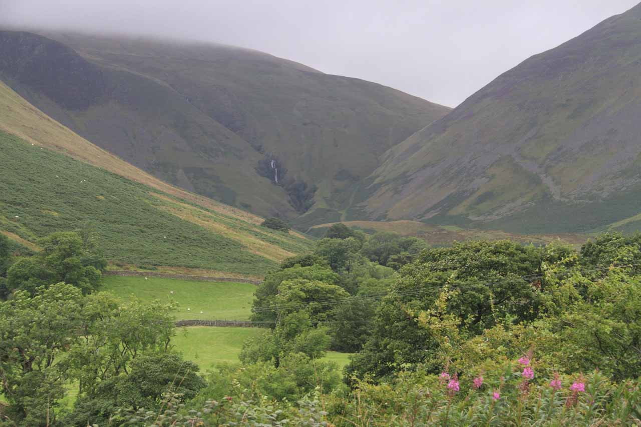 View of Cautley Spout from the unsigned pullout