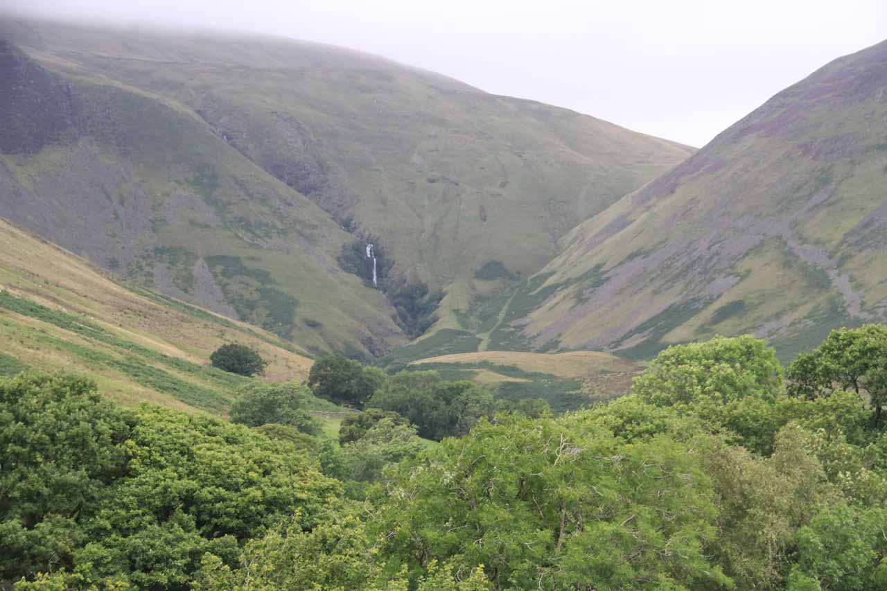 Cautley Spout from a distance